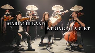 Classical Quartet and Mariachi Band Fuse Styles Into One Song