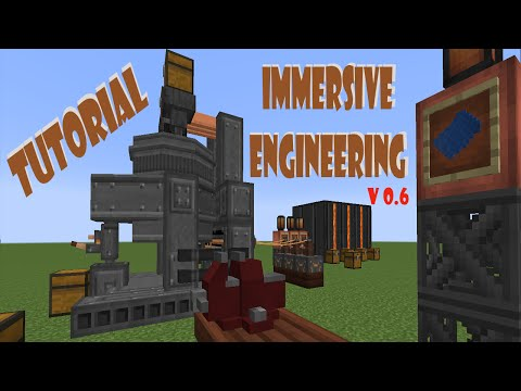 Tutorial Immersive Engineering v 0.6 en Español