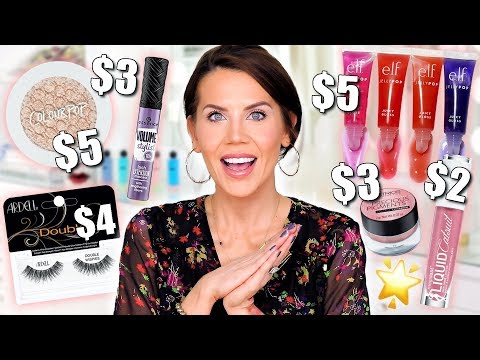 💰 $5 DRUGSTORE MAKEUP that Outperforms LUXURY!