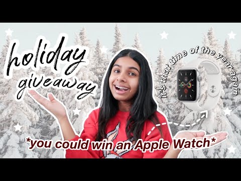 APPLE WATCH CHRISTMAS GIVEAWAY 2020