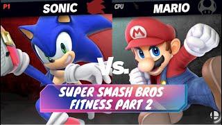 Super Smash Bros Fitness Part 2 (Online PE Activity/ Warmup)