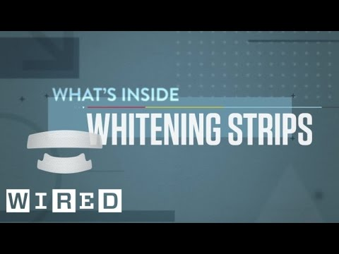 What's Inside: Teeth Whitening Strips-WIRED