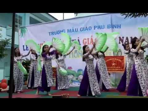 Bài múa các cô tặng học trò nhân ngày 20.11