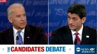 Vice Presidential Debate 2012: Joe Biden to Romney-Ryan on Economy: 'Just Get Out of the Way'