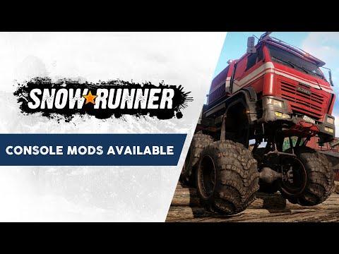 Console Mods Trailer de SnowRunner