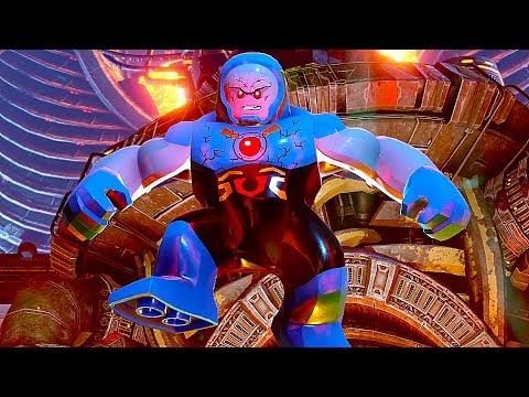 LEGO Justice League Vs Darkseid Final Boss Fight + Both Endings Good & Evil