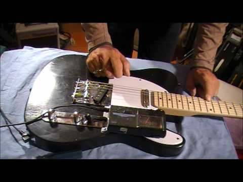 SETTING UP YOUR PIT BULL GUITAR (INTONATION)