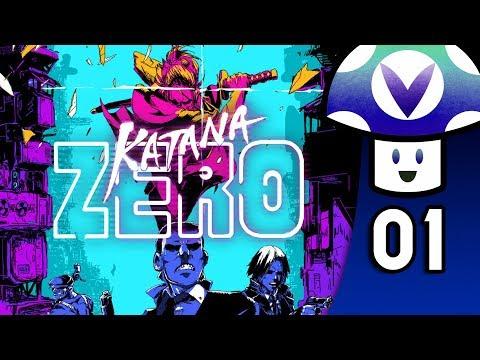 [Vinesauce] Vinny - Katana ZERO (part 1)