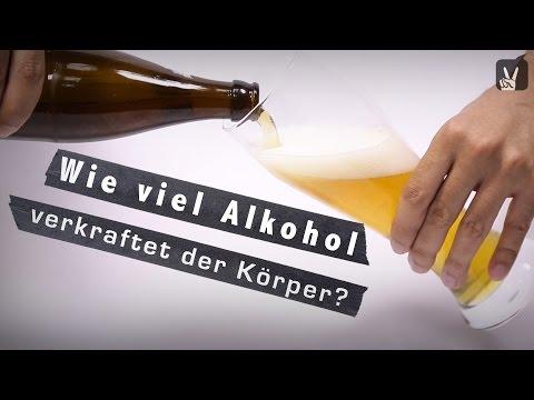 Alkoholkonsum: So viel Alkohol verkraftet der Körper