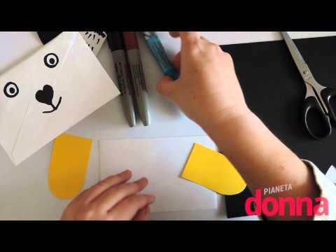 Buste da lettera a forma di animale - Tutorial
