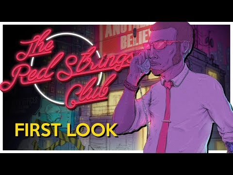 Gameplay de The Red Strings Club