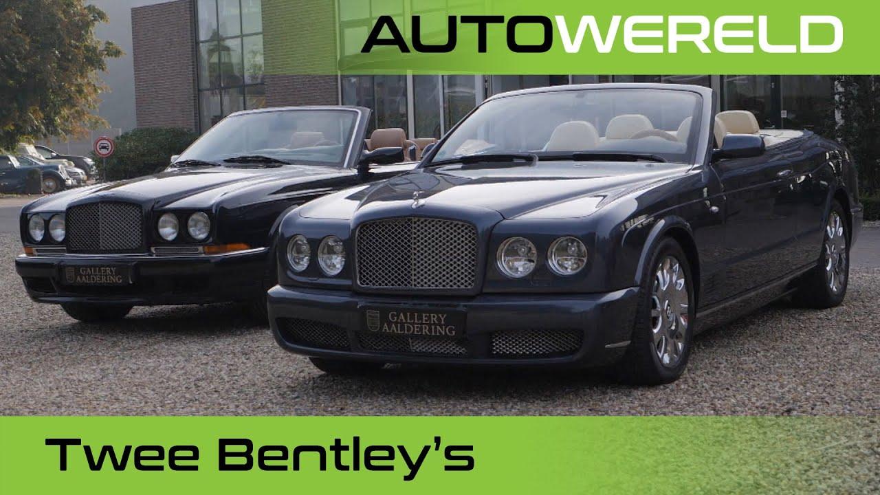 Twee zon-aanbiddende Bentley's | Nico Aaldering