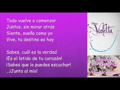Violetta 2 - Hoy Somos Más (Cancion Completa) EXCLUSIVO!