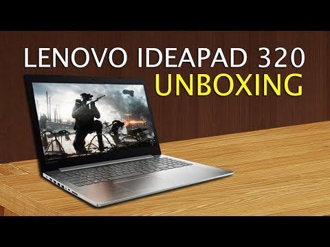 Unboxing do Notebook Lenovo Ideapad 320 com i7 / 8GB / 940MX