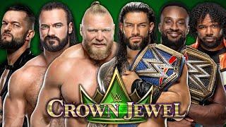 WWE Crown Jewel 2021 Live Stream Reactions