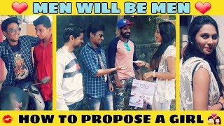 Men Will Be Men | How To Propose A Girl | Jhakaas Shots | Comedy Video