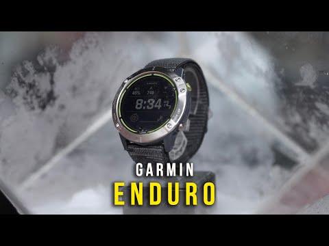 Garmin Enduro - Siêu phẩm đồng hồ năng lượng mặt trời, cạn gì thì cạn chứ không cạn pin