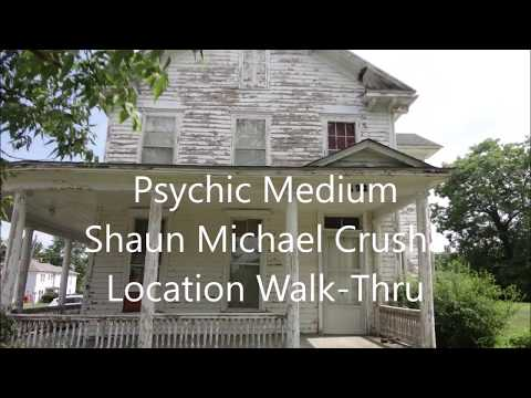 Psychic Medium does a walkthrough of The Garnett House