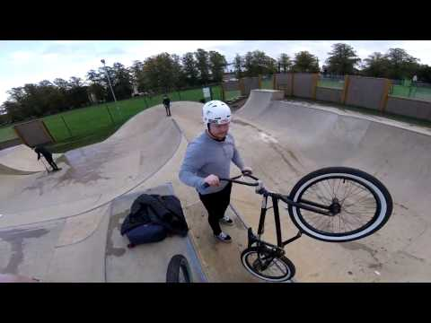 Quick session at Stamford skatepark!!