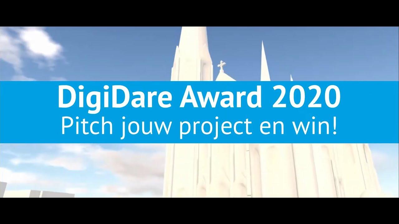 Bekijk de pitches voor de DigiDare Award 2020