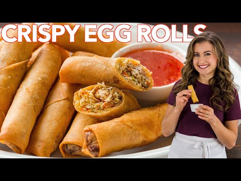 Best Homemade EGG ROLLS - Better Than Takeout