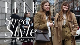 Street Style London Fashion Week: Las Tendencias De La Primavera | Elle España
