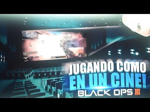 ¡JUGANDO A BLACK OPS 3 COMO EN UN CINE! - PROYECTOR BENQ W2000