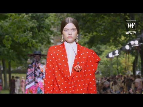 Erdem spring-summer 2020 London fashion week