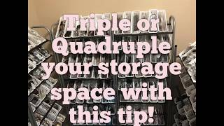 How To Triple Or Quadruple Your Jewelry Storage Space.