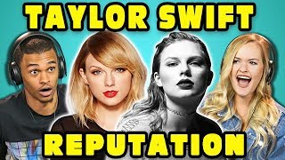 COLLEGE KIDS REACT TO TAYLOR SWIFT - REPUTATION (Full Album Reaction)