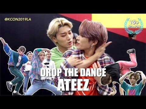 [DROP THE DANCE] ATEEZ | HIT THE WOAH/BOY WITH LUV/Señorita/LOVE SHOT/WAVE etc. [드랍 더 댄스] 에이티즈 @KCON19LA 오늘은 에이티즈 보기 딱인 ...