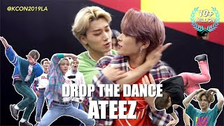 [DROP THE DANCE] #ATEEZ | HIT THE WOAH / BOY WITH LUV / Señorita / WAVE etc. @ KCON19LA