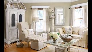 + 30 SHABBY CHIC STYLE LIVING ROOMS, Interior Design 💫