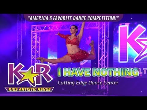 """I Have Nothing"" from Cutting Edge Dance Center"