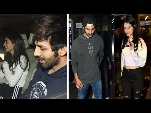 Karthik Aryan Dating Ananya Pandey | Latest Bollywood Gossip 2018