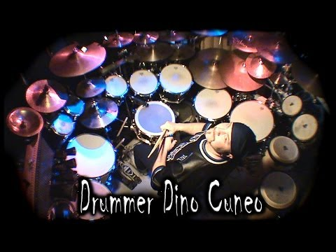 "Dino Cuneo ""Its Never Enough"" DT Drum Audition"