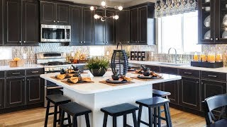 40 Black Kitchens, Design Ideas