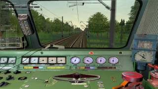 MSTS: Лобовое столкновение поездов