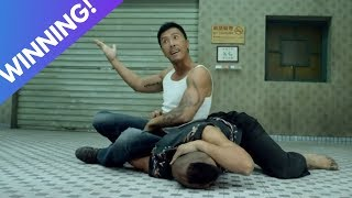 Donnie Yen shows off MAD MMA Skills against ferocious Thai Fighter