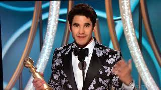 Half-Filipino Actor Darren Criss Wins The Golden Globe And Dedicates It To His Filipino Mother