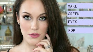 HOW TO: Make Green Eyes Pop! L Easy, Everyday Makeup Tutorial L The Beauty Majlis