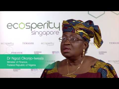 Dr. Ngozi Okonjo-Iweala, Minister of Finance, Federal Republic of Nigeria