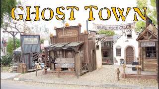 Halloween Ghost Town Home Haunt | Haunted Western Theme Decorating Ideas | Display Walkthrough