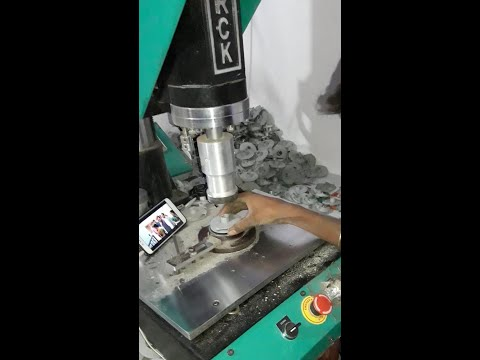 Ultrasonic Plastic Impeller Welding Machine