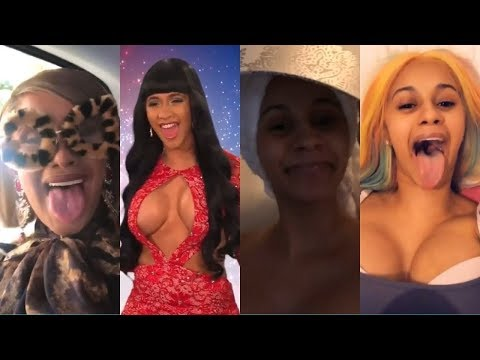 cardi b's funny videos cured my depression | pt.2 (видео)