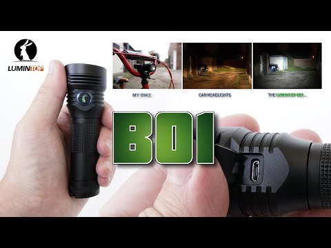 Lumintop B01 bike light Review