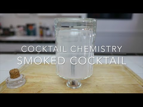 Give Any Drink A Smoky Taste And Appearance By Mixing A Smoked Cocktail