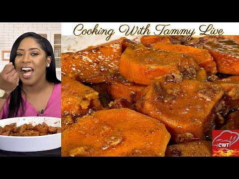 "Southern Candied Yams Recipe ""Holiday Recipe"""