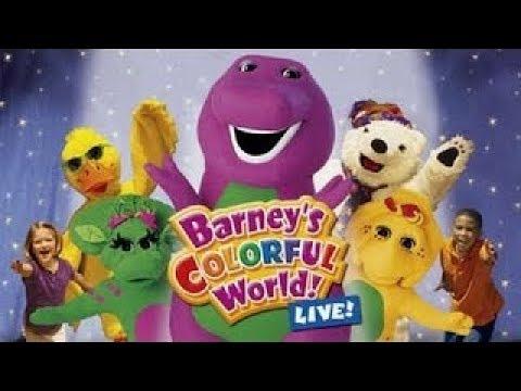 barney barney s colorful world live