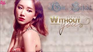 Without You [Lyrics] - Hari Won